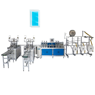 Fully automatic plain face mask production line with CE certificate
